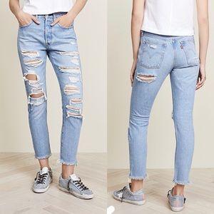 Levi's • NWT 501 Skinny Jeans Sz 24